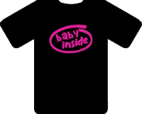 BABY INSIDE TEE - INSPIRED BY GAMING